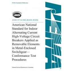 ANSI C37.54-2002 (R2010, R2020)