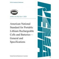 ANSI C18.5M, Part 1-2020